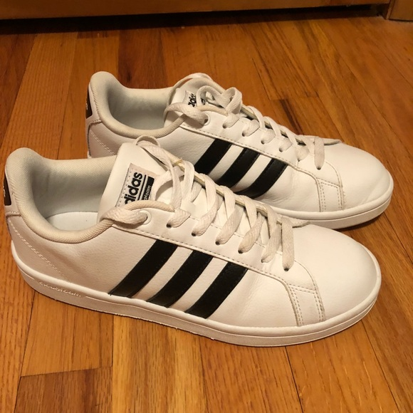 87021e346f7d adidas Shoes - Adidas Advantage Women s sneaker white black